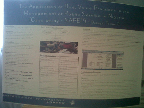Poster - Public Services in Nigeria