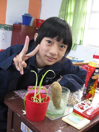 人可愛,種的植物也好可愛
