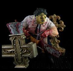 Mezco Cinema of Fear - Stylized Leatherface 02 (Ed Speir IV) Tags: classic movie toy actionfigure texas massacre leatherface chainsaw figure horror stylized mezco cinemaoffear