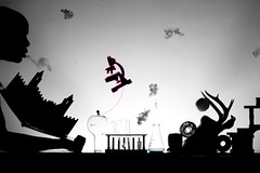 Little Big Planet (Paul Octavious) Tags: clouds smoke horns creation string microscope coils jackelope popupbook littlebigplanet sackboy pauloctavious myfirstscientistset
