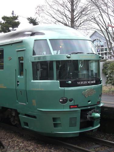"""キハ72系特急ゆふいんの森/KiHa 72 series Limited Express """"Yufuin-no-mori"""""""