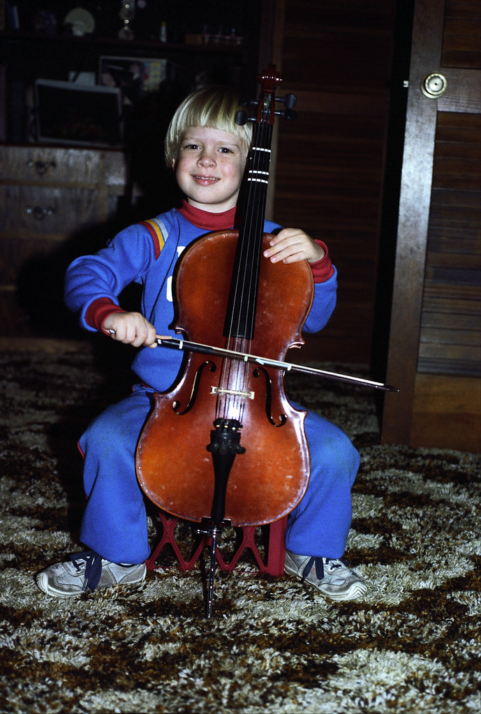 1983 Adam Thede and his Cello