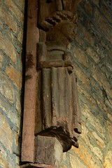 Angel corbel, All Saints - West Haddon