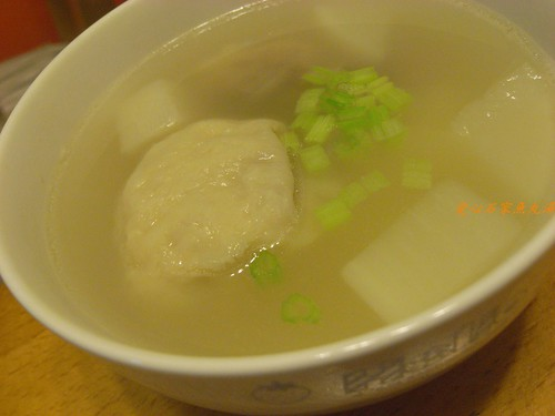 你拍攝的 石家魚丸湯。