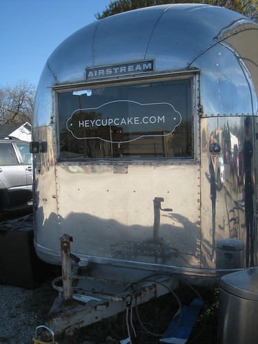 Hey Cupcake Airstream Trailer