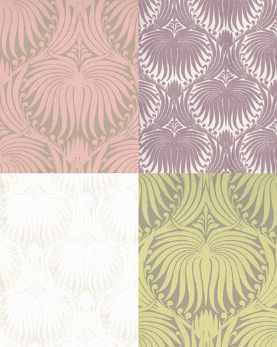 farrow & ball wallpaper: lotus