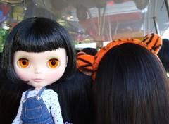 11 On the tram, Quinn blends in.
