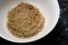 Frozen Steel-Cut Oatmeal, Post-Microwave
