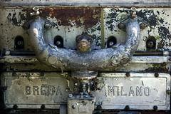 breda milano (miuenski) Tags: signs metal rust textures engines 1210 dslr brands selective thechallengefactory