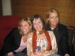 Cathie, Dana and Anne