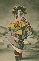 Tayuu - a Japanese courtesan (noel43) Tags: japan japanese district prostitute prostitution redlight pleasure meiji courtesan yoshiwara taisho oiran tayu tayuu kamuro