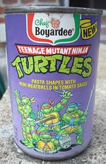 1991 Chef Boyardee TMNT Pasta Can (gregg_koenig) Tags: ninja bank can pasta turtles chef 1991 mutant 1990s tmnt teenage ravioli boyardee sirchompsalot