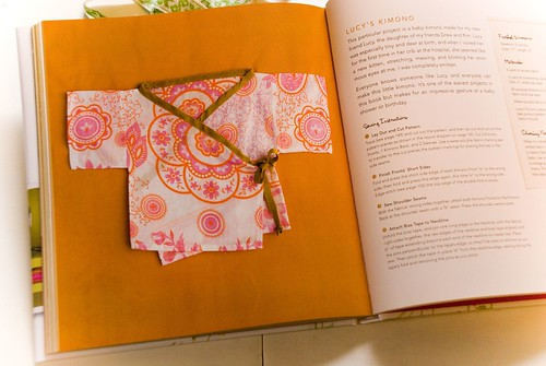weekend sewing lucy's newborn kimono