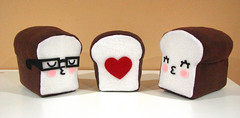 I Loaf You (cutesypoo) Tags: food cute bread toy diy heart handmade craft plush kawaii loaf cutesypoo