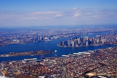 Lower Manhattan (Katy Silberger) Tags: newyorkcity financialdistrict batterypark eastriver hudsonriver soe fdrdrive governorsisland lowermanhattan jol nikond60 lowermanhattanskyline abigfave anawesomeshot