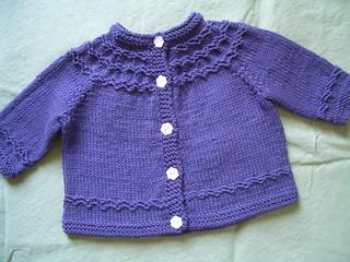 6e363577bb4f Seamless Yoked Baby Sweater