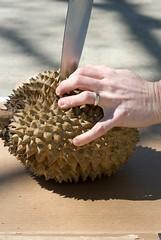 durian cut