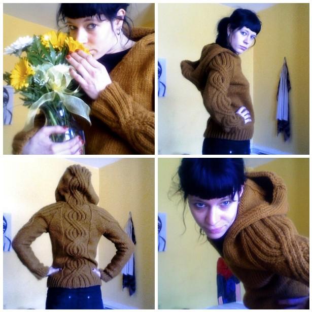 Hannah's Hooded Pullover