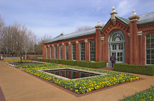 Missouri Botanical Garden (Shaw's Garden), in Saint Louis, Missouri, USA - Linnean House