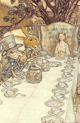 Free To Share (Suzee Que) Tags: vintage ephemera aliceinwonderland arthurrackham freetoshare