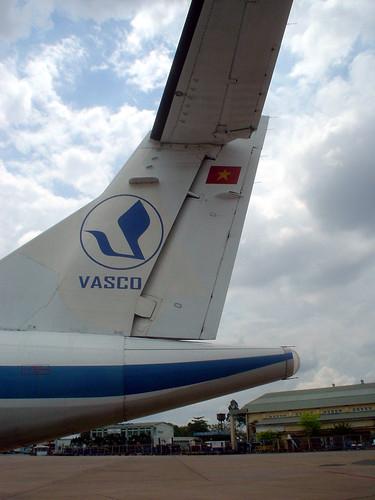 16.到金邊的越南航空班機