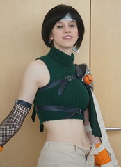 Yuffie, Final Fantasy VII (cosplay shooter) Tags: x201704 cosplay leipzig buchmesse bookfair lbm anime manga comic cosplayer yuffie finalfantasy leipzigerbuchmesse roleplay costume convention rollenspiel comics itakoo 7500z
