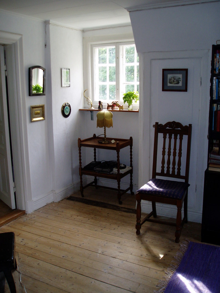 My Swedish house: dormer - study & library