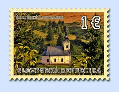 post stamp (VladoV) Tags: color church illustration greek catholic post country experiment christian stamp colored slovensko slovakia byzantine saris inkscape cerkov byzantinecatholic easternslovakia ari grckokatolcky sarisske jastrabie sarisskejastrabie arisk greckokatolicky