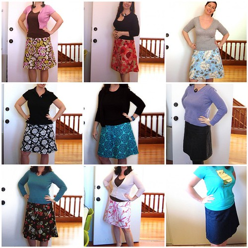 make a wish tutorial I - bonus pattern: A-line skirt ...