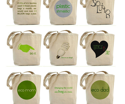 Be Smart Be Green Eco Bags!