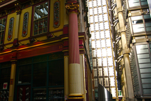 Entering Leadenhall Market