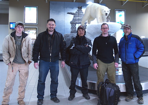 The Northwest Passage Drive Expedition Field Team