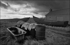 Strathy Cobles (North Light) Tags: clouds drums coast scotland highlands sutherland cobles strathy salmonfishingstation