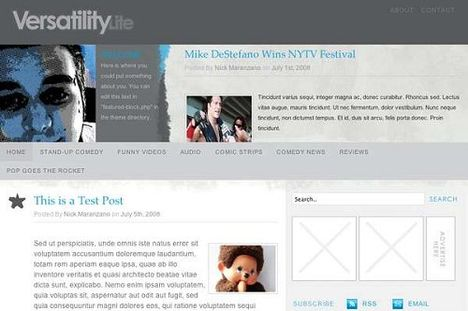 Versatility Lite Free WordPress Theme