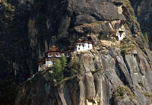 Taktsang, the Tiger's Nest temple