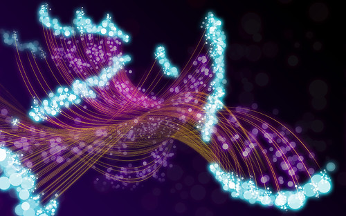 "abstract fibre optics ""chroma"" wallpaper"