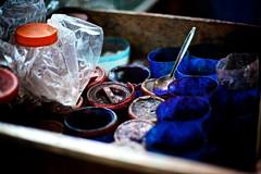 (h1r0) Tags: paint box spoon tools plastic 365 cloth dye gatorade islamabad ef50mmf14usm