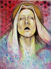 Saint of Sorrow (Sarah.Aradi) Tags: pink poetry sad arabic soulful colourartaward saraharadi  sadsaint saintofsorrow