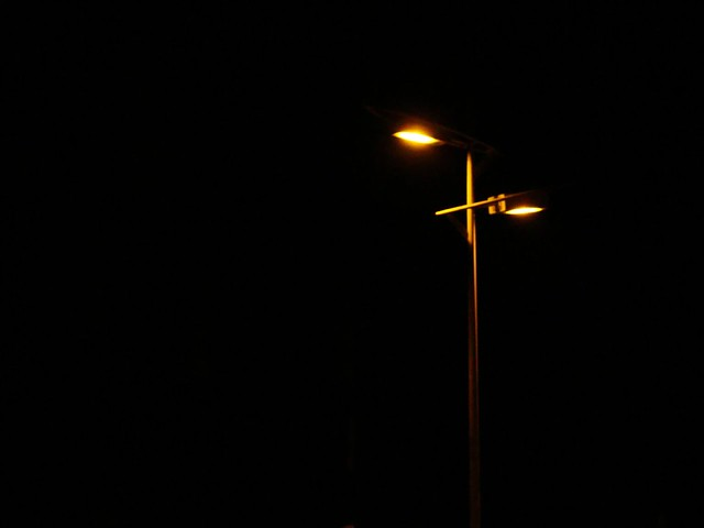 Jesus is light in the dark world!
