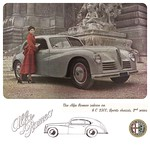 My 2009 ad for the 1949 Alfa Romeo 6C 2500 Freccia d´Oro