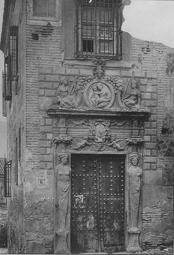 Colegio de Infantes (Toledo) a principios del siglo XX. Foto Blanco y negro.