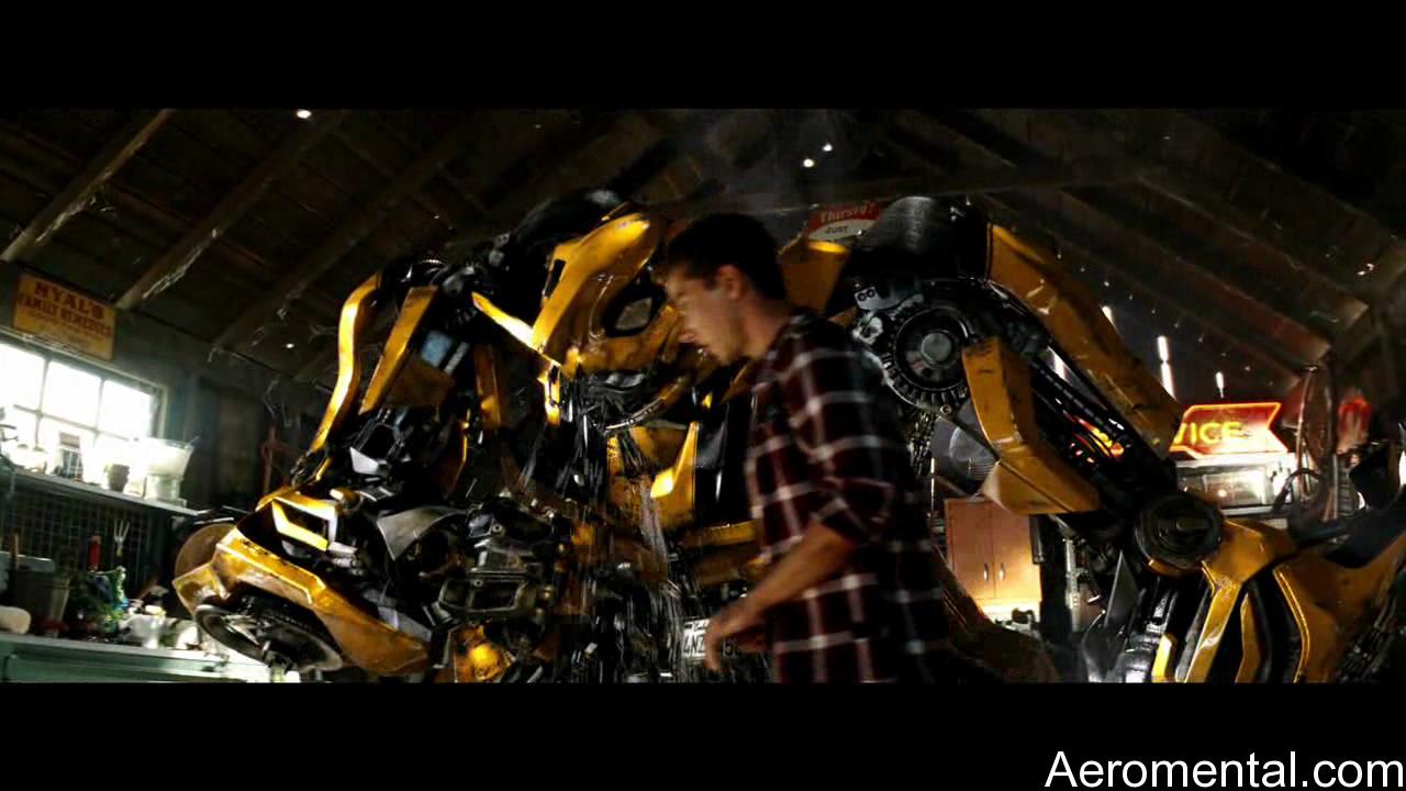 Transformers 2 Bumblebee llorando