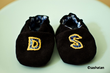 blue suede shoes for DS