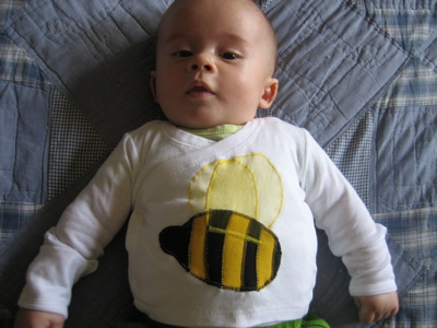 Bee Applique Shirt