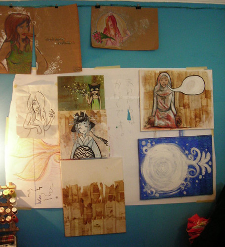 new works wall