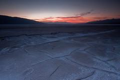 The Death Valley Salt Pan of Mile Marker 106.5 (After Dark Photo) Tags: longexposure sunset saltflats saltpan deathvalleynationalpark sigma1020 specland graduatedfilter leefilter milemarker1065