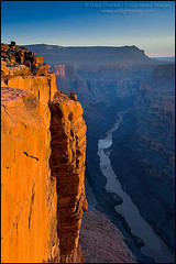 Golden cliff at sunrise over the Colorado River at Toroweap, Grand Canyon, Arizona (enlightphoto) Tags: above light arizona cliff nature water rock vertical landscape outside outdoors golden carved nationalpark high scenery view natural grandcanyon over scenic scene canyon erosion explore coloradoriver vista environment geology height steep sheer eroded geological toroweap frhwofavs garycrabbe enlightenedimages enlightphotocom