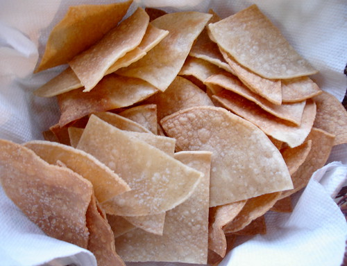 oven-baked tortilla chips
