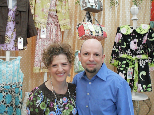 Sew Serendipity's Kay and Keith