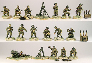 20mm Warmodelling Red Army Support Weapons